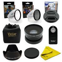 Wide Angle Macro Lens Kit for Canon Rebel SLR 700D 650D 600D 550D 500D 450D 400D