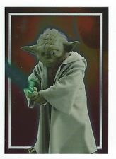 Star Wars Attack Of The Clones Foil Chase Card C7 Topps 2002 Good Condition