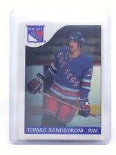 1985-86 Tomas Sandstrom #123 New York Rangers OPC O-Pee-Chee Hockey Card H536