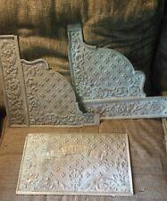 Antique National Cash Register Brass Back Panel- Side Panels- Dayton Ohio-