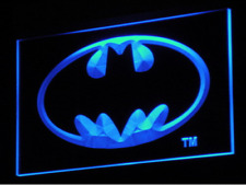 New Custom Batman DC LED Neon Light Signs Bar Man Cave 7 colors to choose from