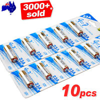 10x 23A 21/23 A23 23A 23GA 12V Alkaline Battery for Garage Car Remote Alarm