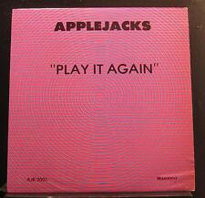 Applejacks - Play It Again LP VG+ AJR 2001 Private MN Polka Vinyl Record