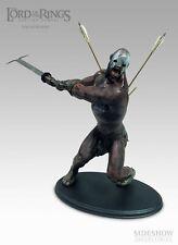 Lord of the ring Uruk-kai Berserker Sideshow statue.  NIB Hobbit