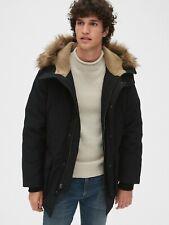 NWOT Gap ColdControl Max Parka Jacket, BLACK SIZE L     $178.00    #473544 T0108