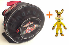 "ROARY the RACING CAR KIDS' Preschool BAG mini BACKPACK 11"" +FLASH RABBIT TOY"
