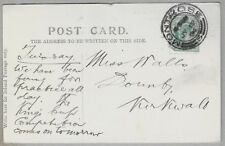 1904 Postcard sent from Montrose to Miss Walls, Dounby, Kirkwall