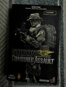 1/6 Hot Toys Specter SOCOM COMBINED ASSAULT LIMITED EDITION Woodland BDU #0099