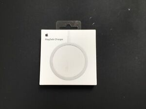 Genuine Apple iPhone MagSafe Charger Qi Enabled Silver A2140