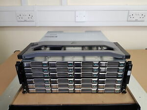 Dell EqualLogic PS6100E 72TB (24x 3TB 7.2K SAS) iSCSI Dual Controller SAN Array