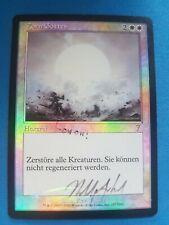 Wrath of God - 7th Edition - FOIL - German - MTG - Zorn Gottes - Signed - PLD