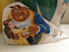 Beauty and the beast Handmade face mask Disney kid