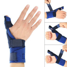 Both Hand Protector Wrist Palm Thumb Brace Guard Wrap Glove Fracture Support