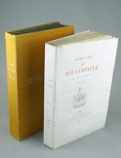 Le roi Candaule GAUTIER Ferroud 1893 Exemplaire d'Anatole France PAUL AVRIL