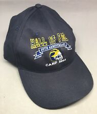 MICHIGAN WOLVERINES Hall of Fame 20th Anniversary Camp 2005 hat cap adjustable