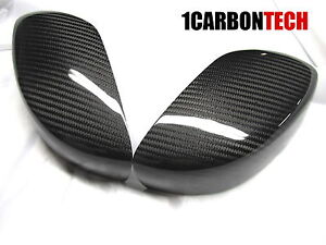CARBON FIBER MIRROR COVERS FITS INFINTI 08-13 G37 COUPE 15-16 Q60