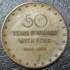 1903-1953 - 50 Years Forward With Ford - 3 Generation Henry, Edsel & Henry Ii
