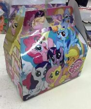 ♛ Shop8 : 12 pcs MY LITTLE PONY Donut Box Loot Bag 6.5*4*3 inches Party Gift Box