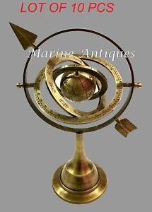 "Title:  32"" NAUTICAL LEATHER TELESCOPE MARINE ANTIQUE BRASS PIRATE SPYGLASS SCOP"