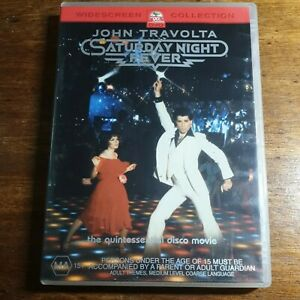 Saturday Night Fever DVD R4 LIKE NEW FREE POST