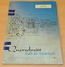 CHEVROLET 13, 18 und 20 PS 1950er Jahre Reparaturanleitung B24 Handbuch