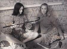 Brigitte Fossey Isabelle Weingarten Les enfants du placard Original Vintage 1977