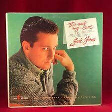 JACK JONES This Was My Love - 1961 Canadian Vinyl LP  EXCELLENT CONDITION