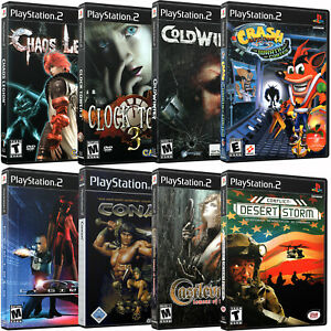 Replacement Playstation 2 PS2 C Cover Art & Case NO DISC!!! BUY MORE SAVE MORE