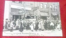 1920's Grove City PA. Buster Brown & Tige At DeFrance Shoe Store Postcard Repo