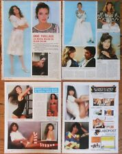 ANNE PARILLAUD clippings 1970s sexy photos French actress alain delon nikita