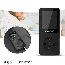 RUIZU X02 8GB MP3 Musik Player 70 Stunden Wiedergabe 1,8 TFT Display PW