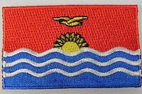 Kiribati Aufnäher gestickt,Flagge Fahne,Patch,Aufbügler,6,5cm,neu