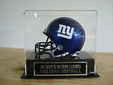 Display Case For Your U.S.C. Trojans Autographed Football Mini Helmet