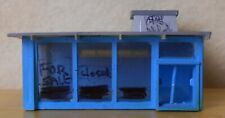 N scale building drive-in hamburger stand closed Bachmann 45709 built good