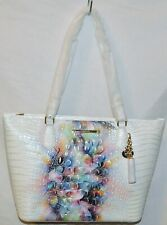 NWT Brahmin Melbourne Asher Tote Prism Ombre - Crocodile Embossed Leather