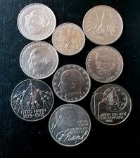 Deutsche marken & German mark coins  &  monedas marcos Alemanes