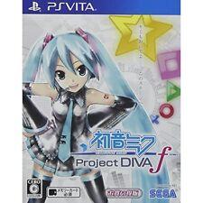 Used PS Vita Hatsune Miku-project Diva-f Bargain Japan Import Version