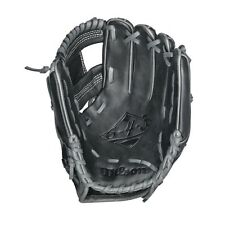 Wilson 6-4-3 Infield Baseball Glove Black/Coal/White RHT 11.25 Inches