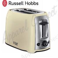 Russell Hobbs 23863 DARWIN 2 Slice Toaster - Cream FREE P&P