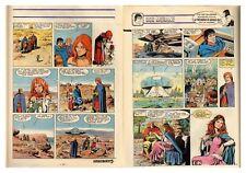 1984 (Ref T  440) : BOB MORANE UNE ROSE POUR  L'OMBRE JAUNE  pl 45/46 FIN