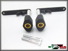 Strada 7 Honda CBR250R 2010 - 2015 CNC Frame Crash Protectors Sliders Gold
