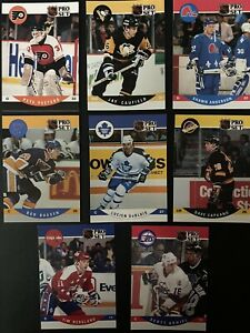 1990-91 PRO SET Hockey Cards.  Card # 501-705.  You Pick to Complete Your Set