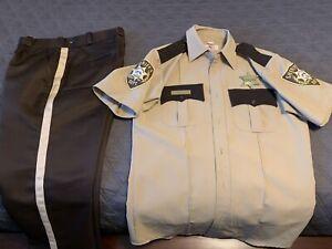 Rick Grimes Walking Dead Police Sheriff Haloween Costume Genuine