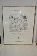J. Kanoza for the 1994 U.S. Open Golf Signed Limited Edition Print
