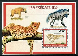 Togo MNH  2010 – Nature Wild Animals Hyena 2010. x28580