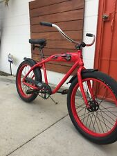 Felt Red Baron fat tire beach cruiser bicycle