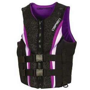 O'Brien medium Womens Life Vest - Purple