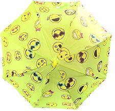 """Cute Emoji Emotion Happy Face 23"""" Girls/Boys Umbrella"""