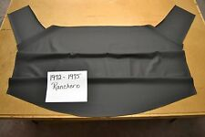 1972 72 1973 73 1974 74 1975 75 FORD RANCHERO BLACK HEADLINER USA MADE