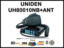 Uniden UH8010 + AT870 Antenna UHF CB RADIO 5 WATT LATEST MODEL 80 CHANNEL NEW